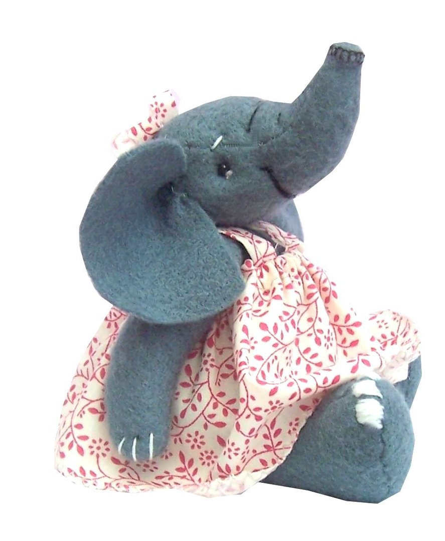 Erica elephant sewing pattern