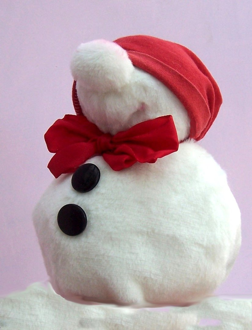 Snowman Sewing Pattern - Mr Snow