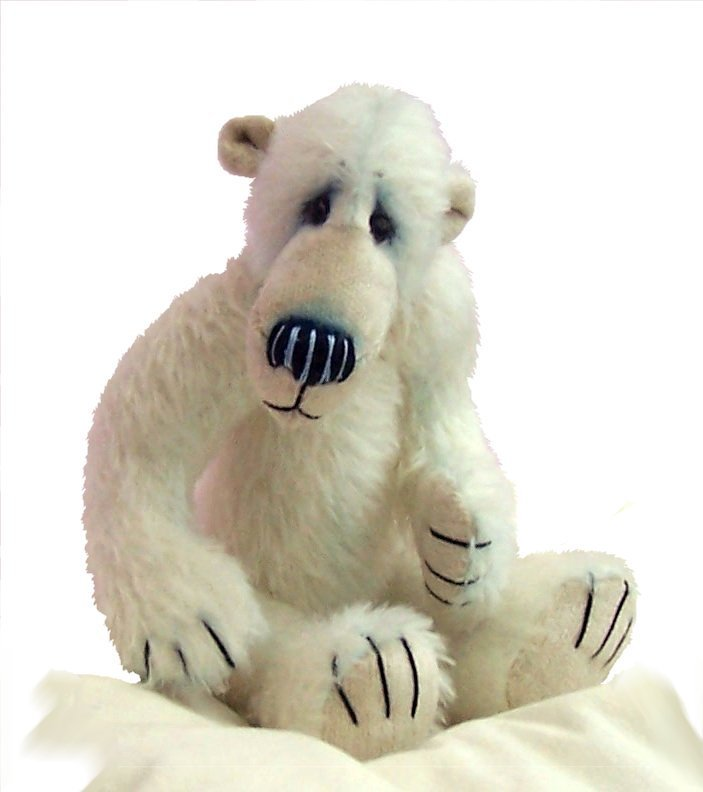 Nanuk, polar bear sewing pattern (digitial)