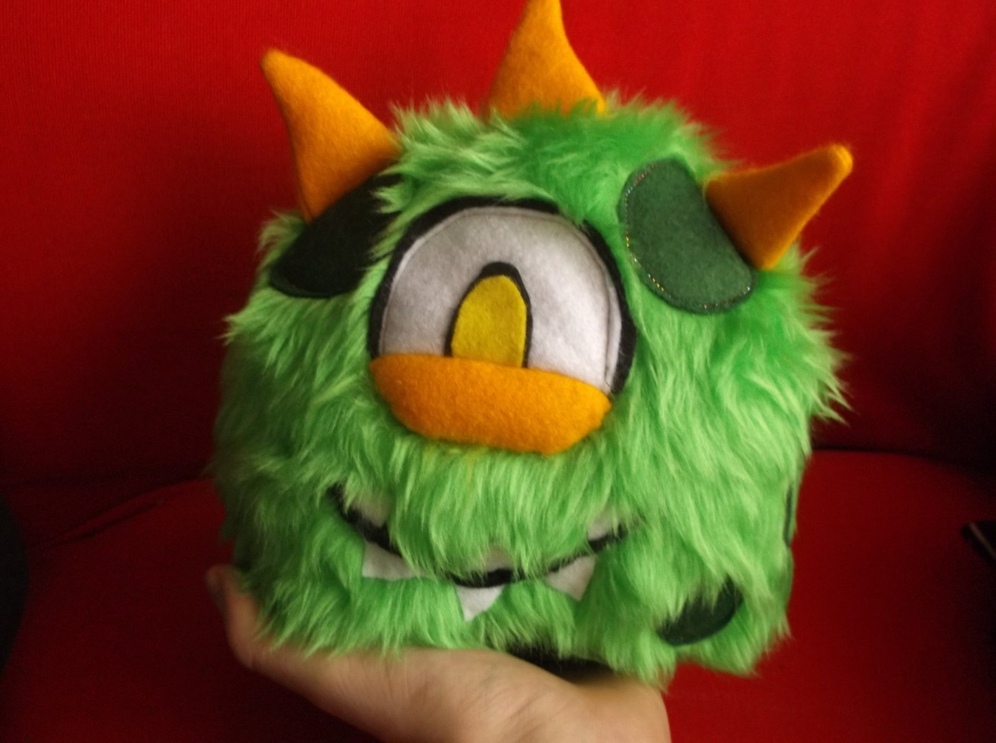 Biggles monster sewing pattern download