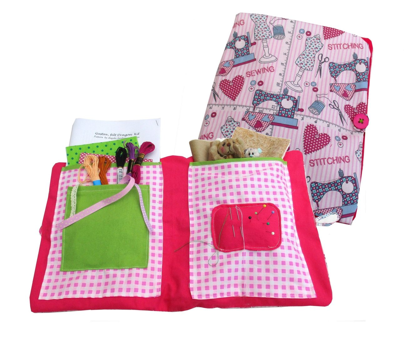 Fabric Project Holder Sewing Pattern