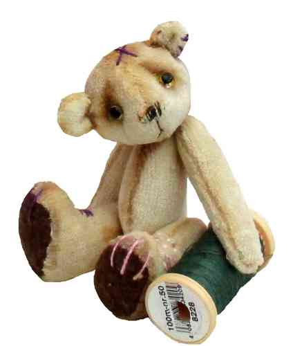 Scrumble Bear soft toy sewing pattern