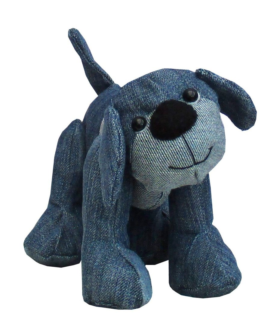 Soft Toy Patterns : Denim dawg soft toy sewing pattern pcbangles