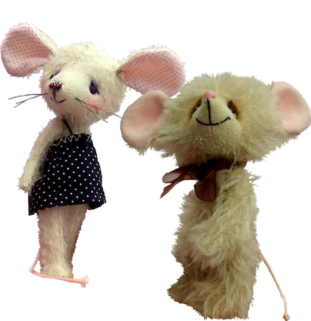 Mice is Nice Bundle pack of two cute mice sewing patterns