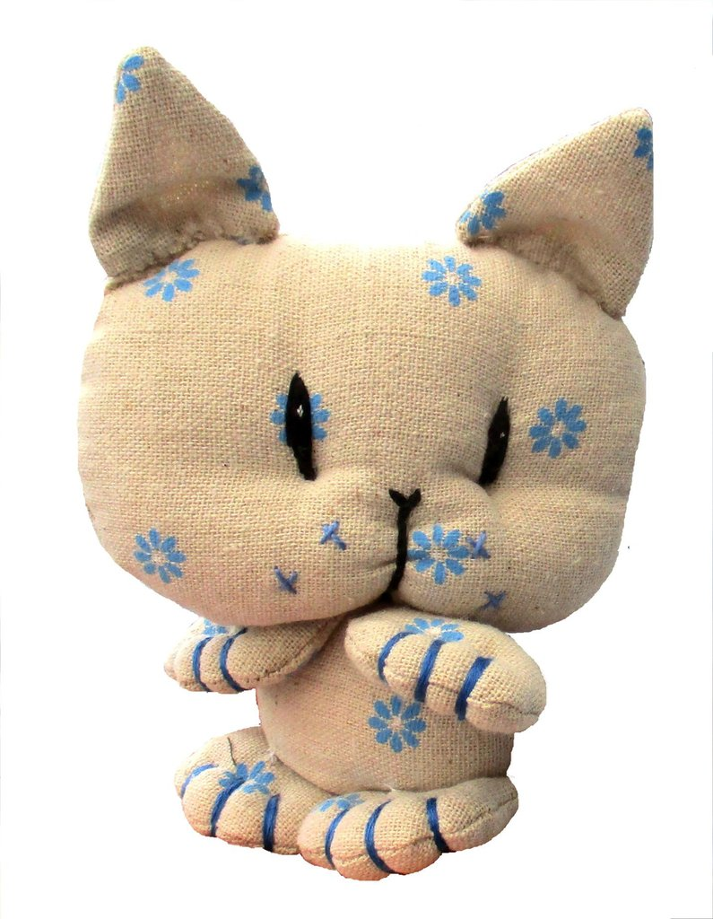 Coorie Kitten Digital Soft Toy Sewing pattern