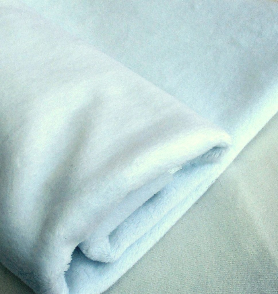 Polar white super soft faux fur fabric