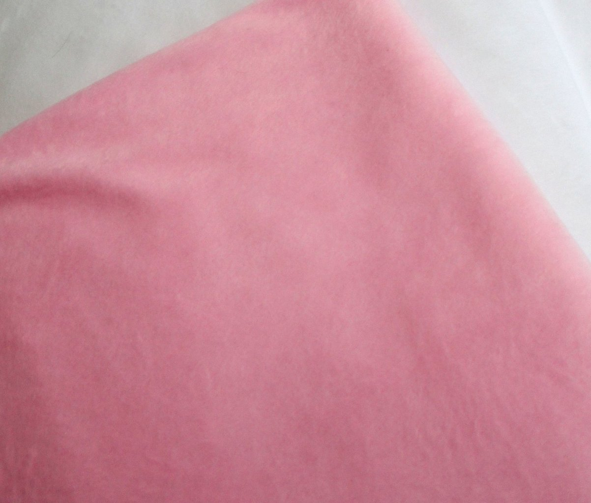 Pale pink super soft faux fur fabric