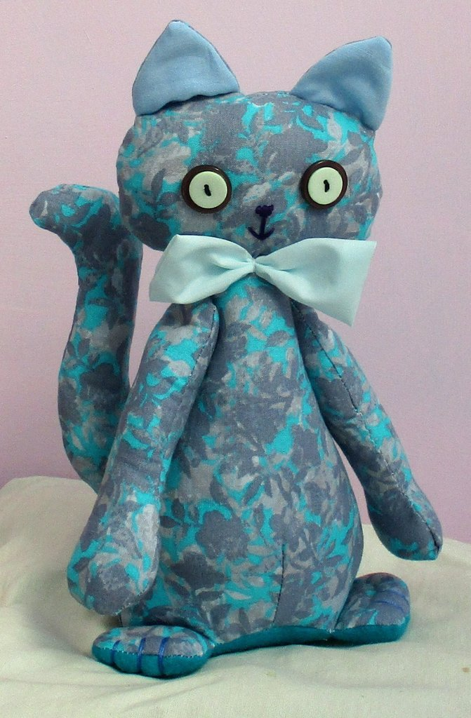 Casey easy to sew cat or kitten sewing pattern