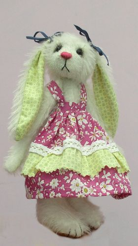 Sasha Rabbit soft toy sewing pattern