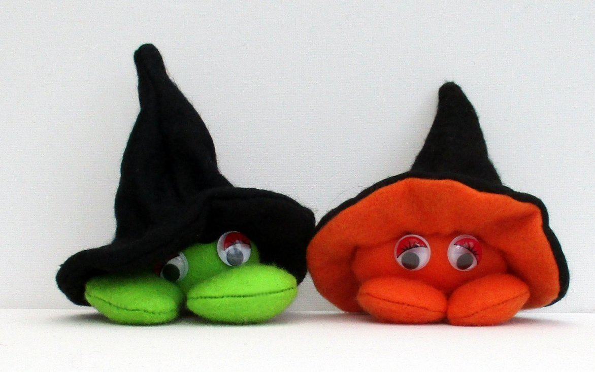 Pod Body Halloween soft toy sewing pattern