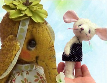 Elephant and Mice sewing patterns