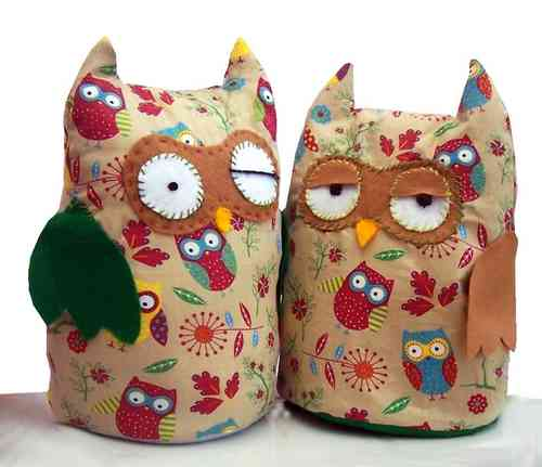 Fabric Owl Doorstop Pattern