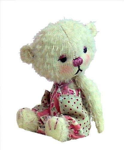 Megan-Lou soft toy teddy bear sewing pattern