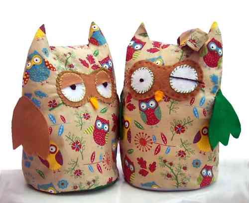 Fabric Owl Doorstop Download