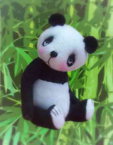 Bamboo Panda sewing pattern