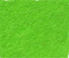 Soft quality felt - bright green