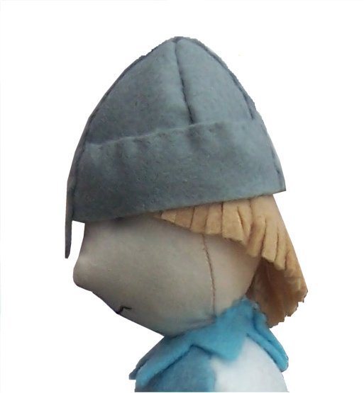 Knight soft toy sewing pattern Sir Cloth by pcbangles 12 inches high