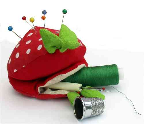 Strawberry Sewing Kit Purse sewing pattern