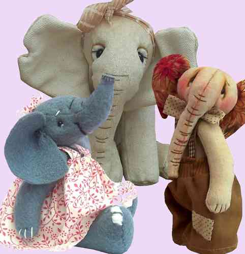 Elephant Sewing Pattern Bundle