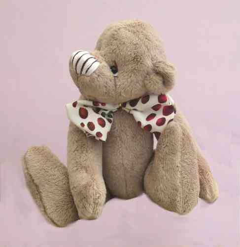 Brambley Tum digital teddy bear sewing pattern