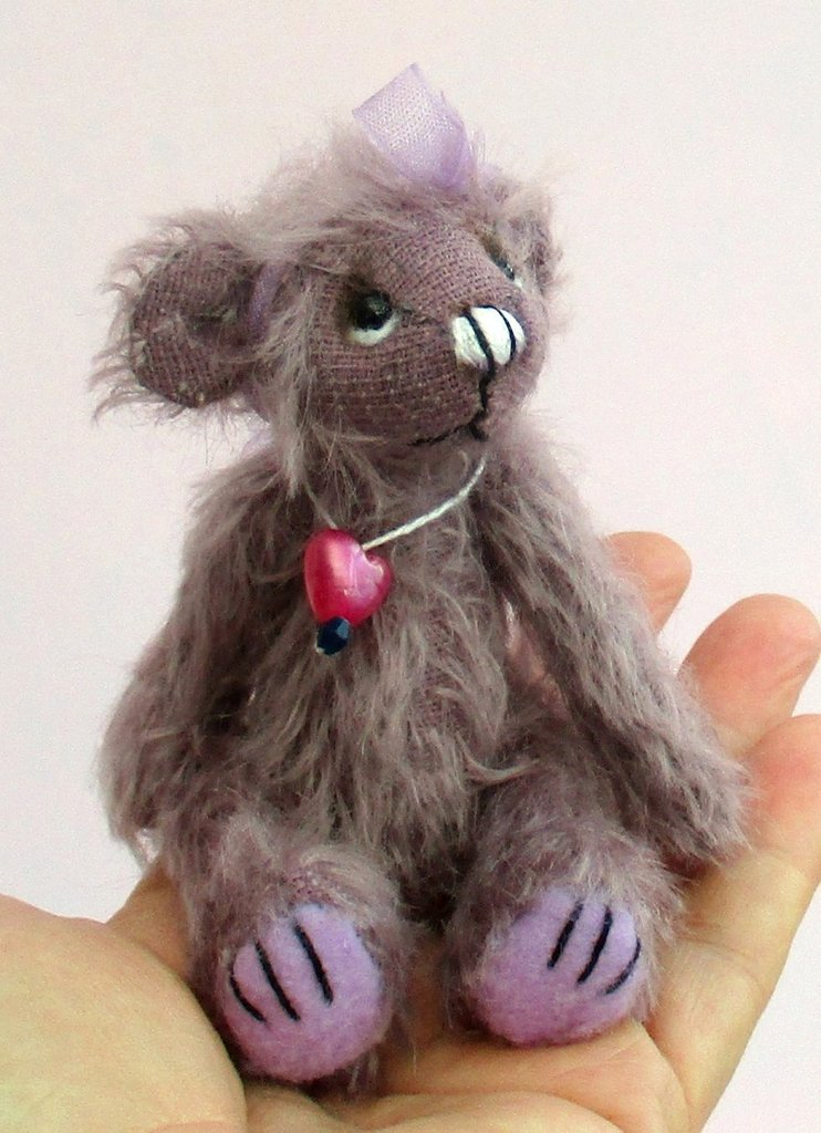 Blueberry bear mohair kit  ~  SALE