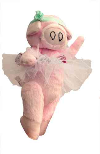Priscilla Piggles soft toy sewing pattern