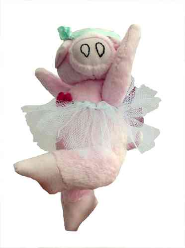 Priscilla Piggles digital soft toy piglet sewing pattern