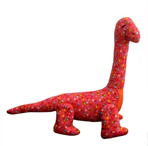 Dippy dinosaur digital sewing pattern