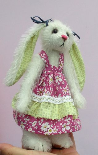 Sasha rabbit digital download sewing pattern