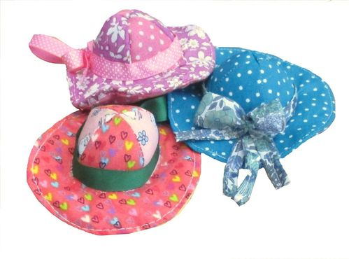 Pretty Bonnet Pincushion digital sewing pattern
