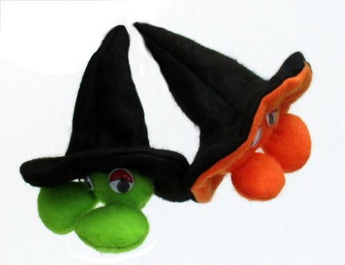 Pod Body digital Halloween soft toy sewing pattern   PDF