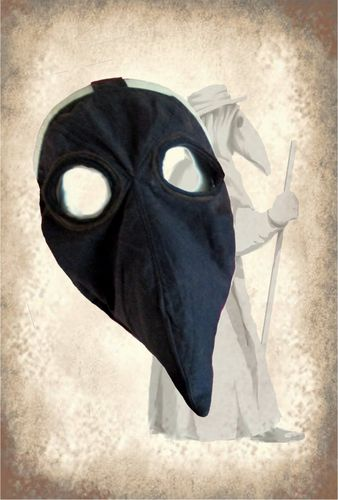 Plague Doctor Mask historical costume sewing pattern