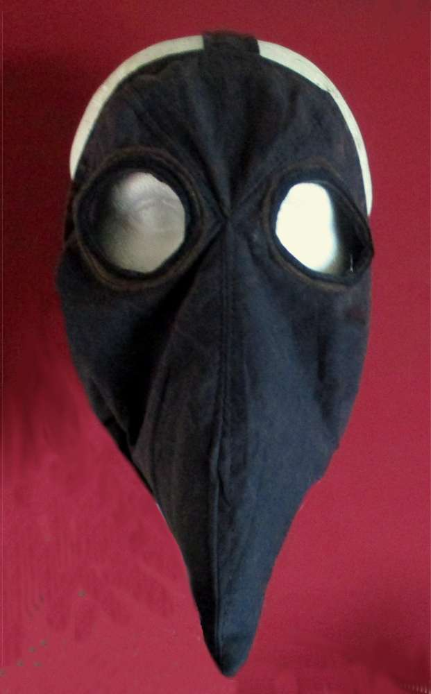 Plague Doctor Mask historical costume sewing pattern - pcbangles