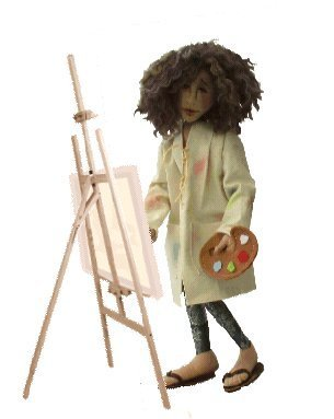 Rembrandt cloth doll sewing pattern.