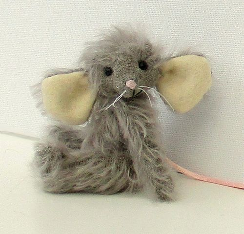 Davis - mohair mouse soft toy sewing kit