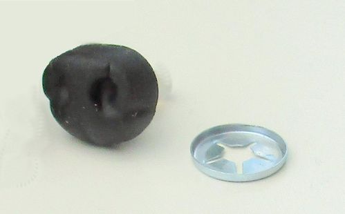 Nose  15mm rubber safety nose
