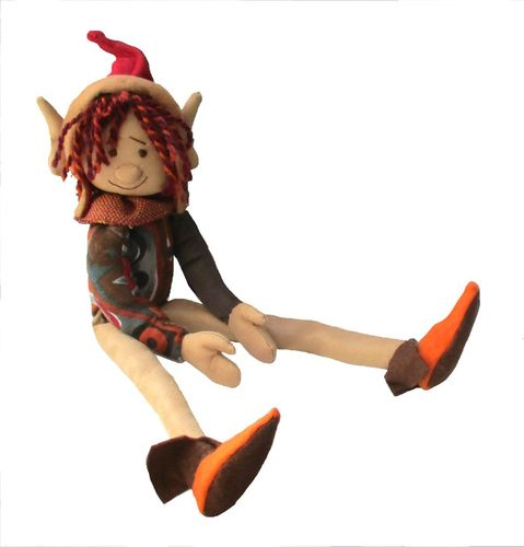 OAK digital elf cloth doll sewing pattern  PDF