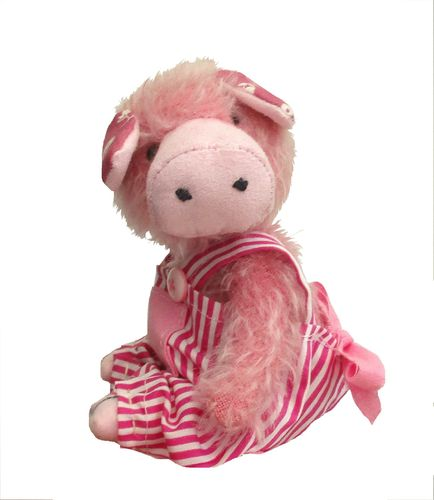 Tilly Piggy soft toy piglet sewing pattern