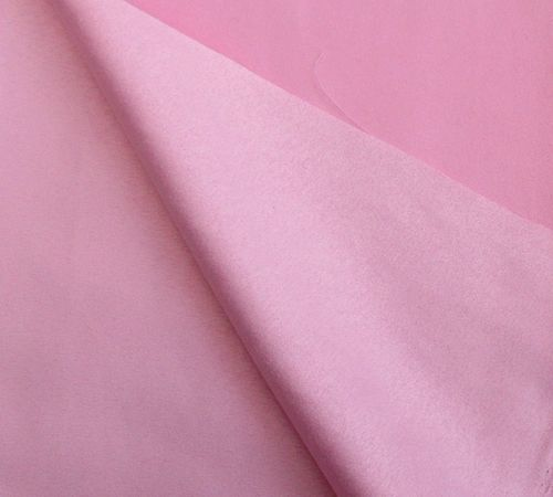 Faux suede fabric - pink.   Animal friendly