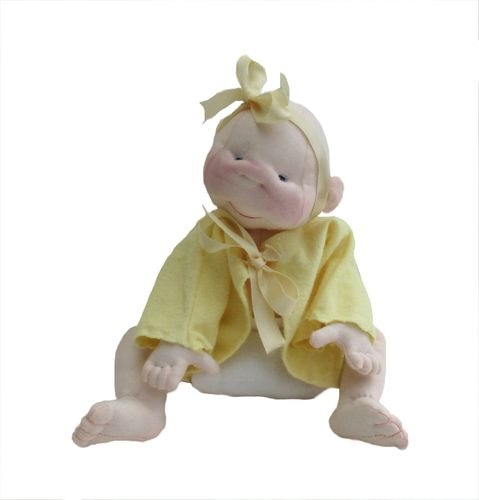 Jub Jubs baby cloth doll soft toy sewing pattern.  Digital PDF