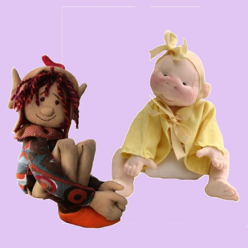 Friendly Hugs soft toy pattern pack.  Jub Jubs baby doll and Oak elf sewing patterns