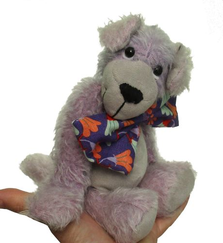 Ned a soft huggy soft toy puppy sewing pattern