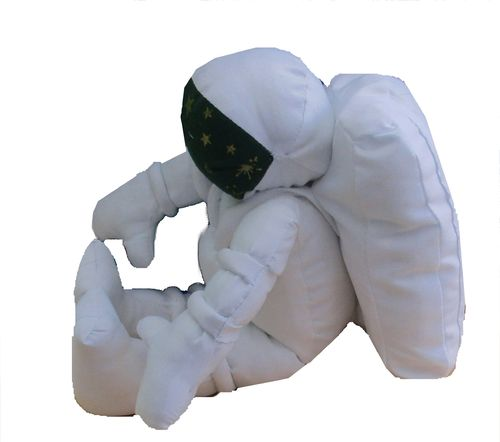 Major Tim, our cuddly spaceman sewing pattern  PDF