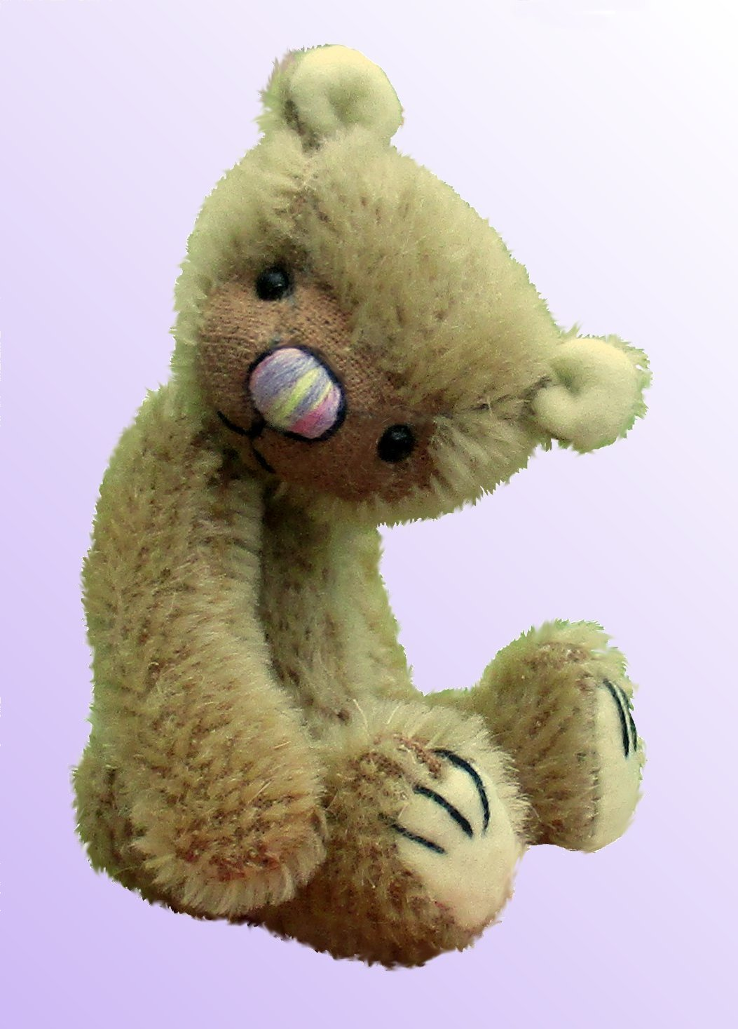 Tickle teddy bear pattern
