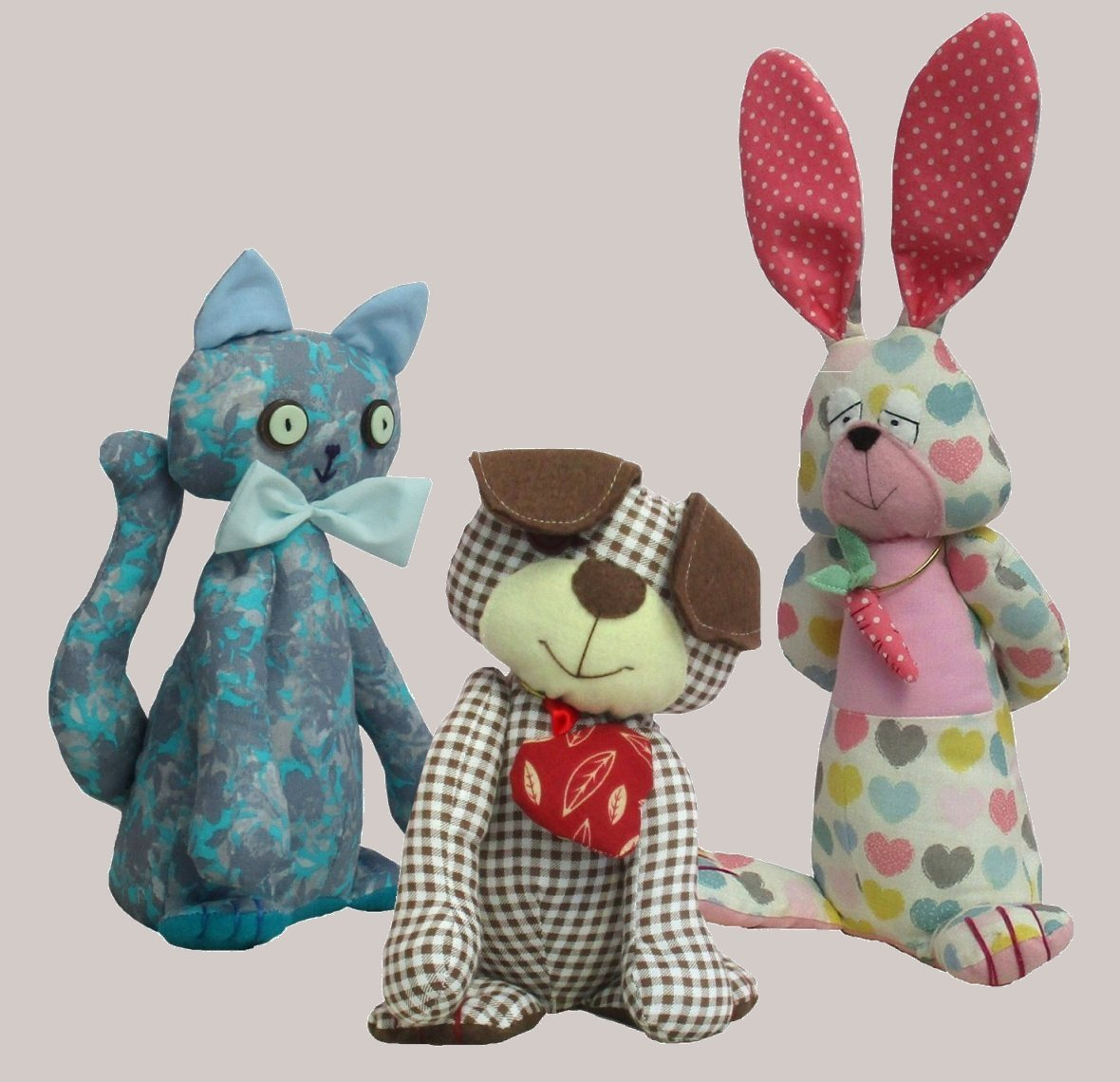 digital soft toy sewing patterns for beginners  PDF